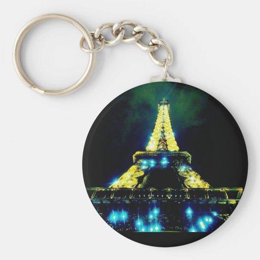 Eiffel Tower CB Keychain