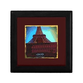 Eiffel Tower CB Small Square Gift Box