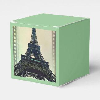 Eiffel Tower-Color Favour Box