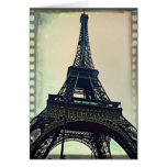 Eiffel Tower-Color Greeting Card