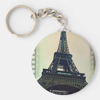 Eiffel Tower-Color Keychain