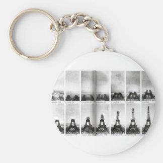 Eiffel Tower Construction Keychain