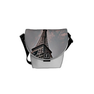 Eiffel Tower Courier Bag