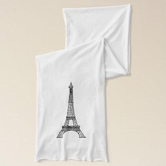 Eiffel Tower Customizable Scarf