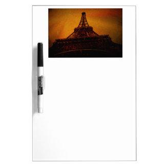 eiffel tower dry erase board