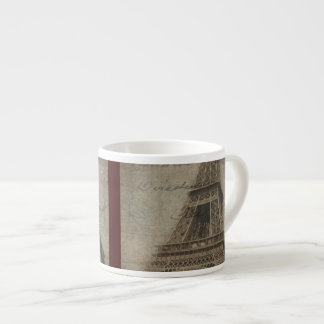 Eiffel Tower espresso cup