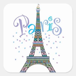 Eiffel Tower Fantasy sticker