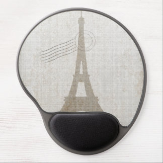 Eiffel Tower France Travel Design Gel Mousepads