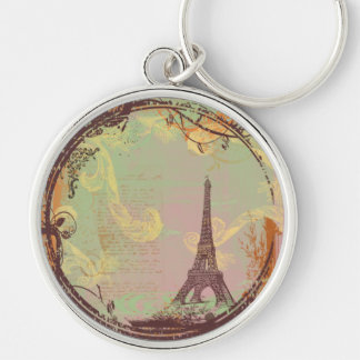 Eiffel Tower French Key Chain