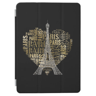 Eiffel Tower | Gold Love Paris iPad Air Cover