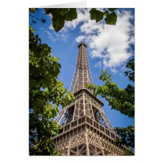 Eiffel Tower Greeting Card