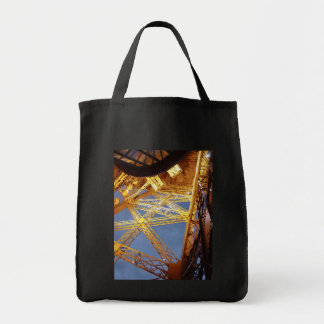Eiffel Tower Grocery Tote Bag