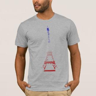 Eiffel Tower Grunge T-Shirt