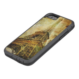 Eiffel Tower Grunge Tough Xtreme iPhone 6 Case