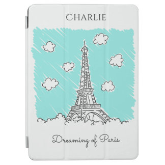 Eiffel Tower Illustration custom device covers iPad Air Cover