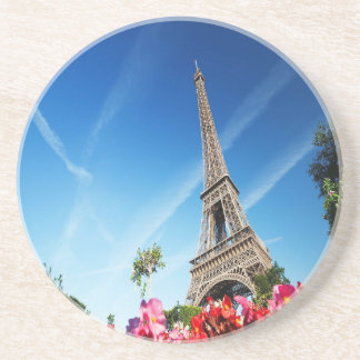 Eiffel Tower in Paris Drink Coaster