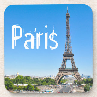 Eiffel Tower in Paris, France Drink Coasters