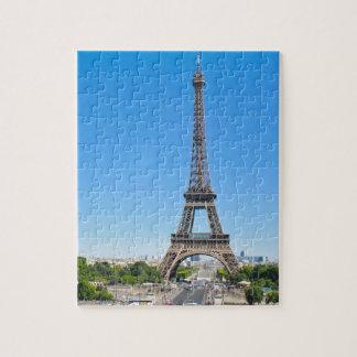 Eiffel Tower in Paris, France Jigsaw Puzzle