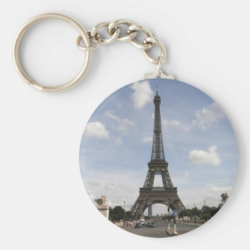 Eiffel Tower in Paris Keychains