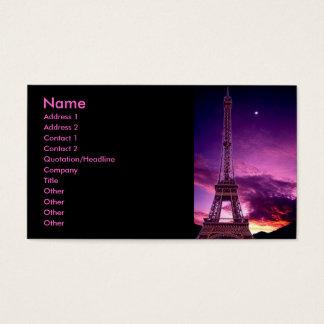 Eiffel Tower In Sunshine Profile Card