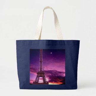 Eiffel Tower In Sunshine Sky Tote Bag