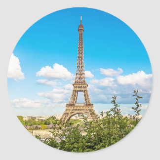 Eiffel Tower in the Clouds Sticker