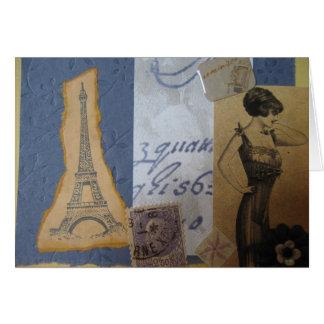 Eiffel Tower, J'Adore Card