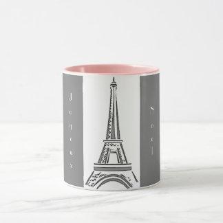 Eiffel Tower Joyeux Noel Mug