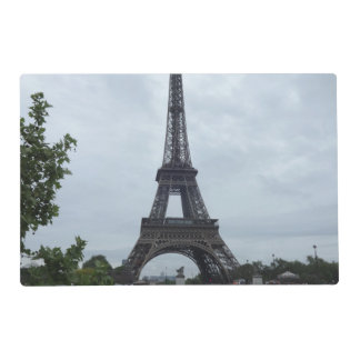 Eiffel Tower Laminated Placemat