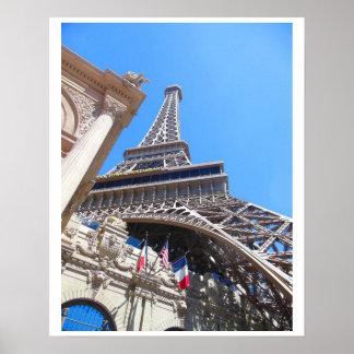 Eiffel Tower Las Vegas Boulevard Poster