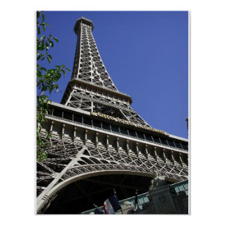 Eiffel Tower Las Vegas Poster