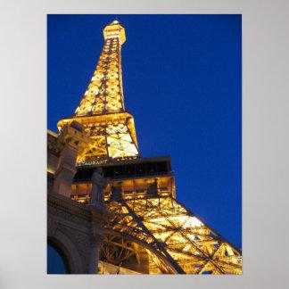 Eiffel Tower, Las Vegas Poster