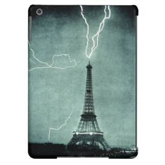 Eiffel Tower lightning strike ipad air case