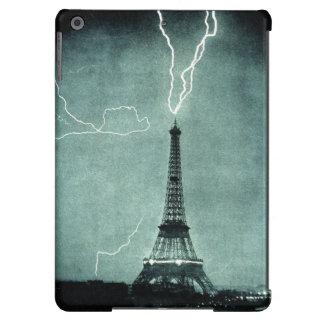 Eiffel Tower lightning strike ipad air case