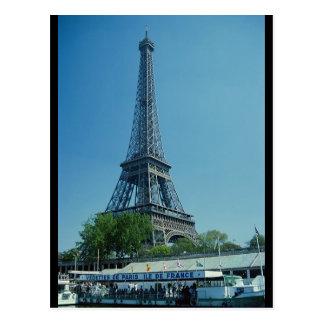 Eiffel Tower Longshot Postcard
