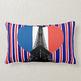Eiffel Tower Lumbar Cushion
