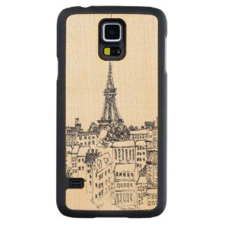 Eiffel Tower Maple Galaxy S5 Case