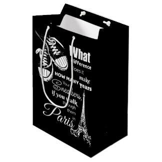 Eiffel tower medium gift bag