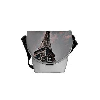 Eiffel Tower Courier Bag
