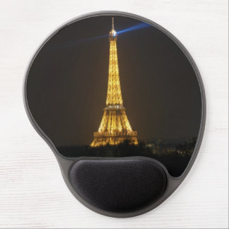 Eiffel Tower night Gel Mouse Pad