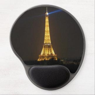 Eiffel Tower night Gel Mouse Pad