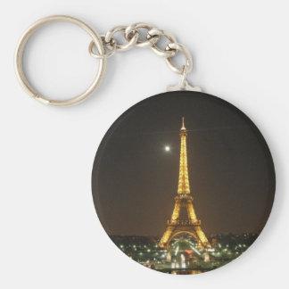 Eiffel Tower @ Night Keychain