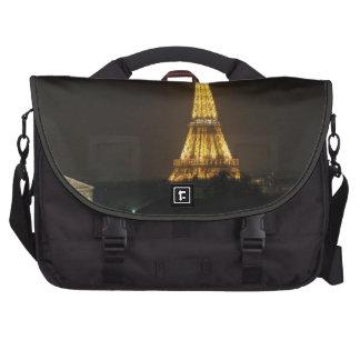 Eiffel Tower night Laptop Bags