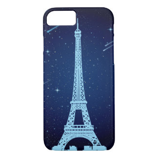 Eiffel Tower Night Scene iPhone 7 Case