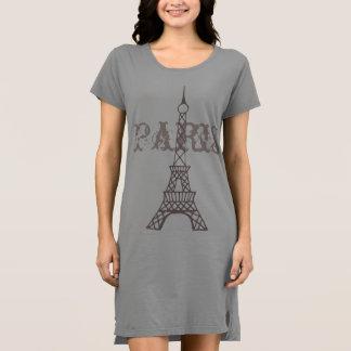 Eiffel Tower Nightgown T Shirt