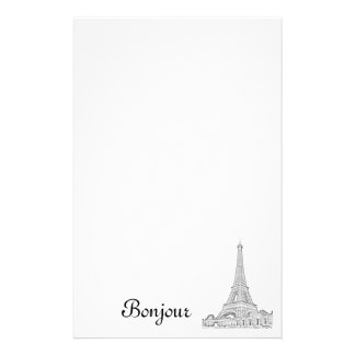 Eiffel Tower note pad Customized Stationery