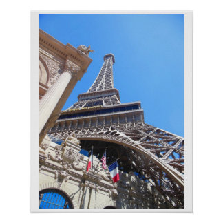 Eiffel Tower on Las Vegas Boulevard Poster