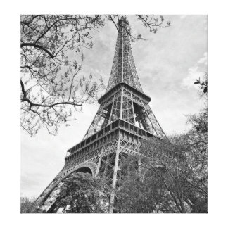 Eiffel tower Panorama Canvas Prints