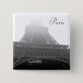 Eiffel tower Paris 15 Cm Square Badge