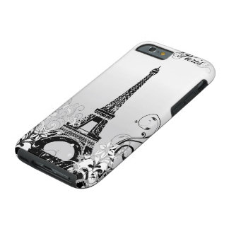 Eiffel Tower Paris B/W Tough iPhone 6 Case